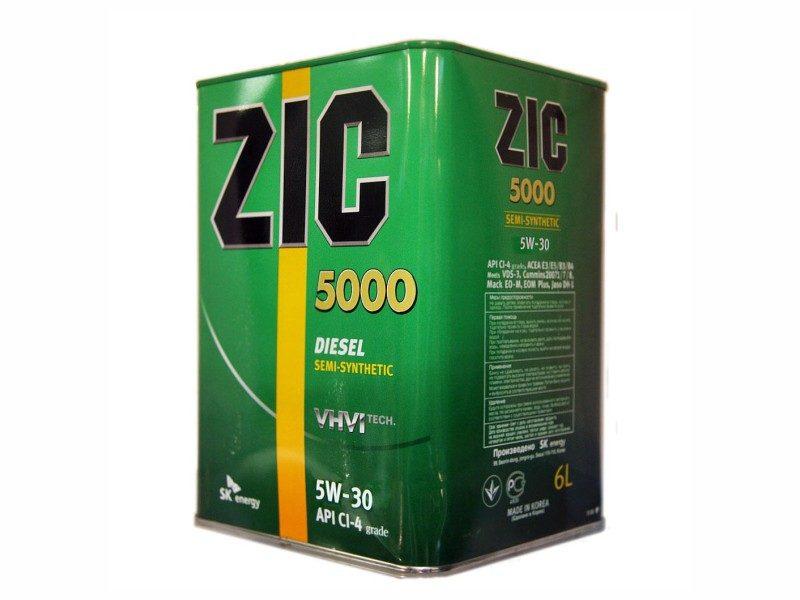ZIC_5000_5W-30_6l
