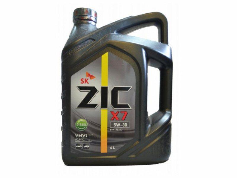 ZIC_X7_5W-30-diesel-6l