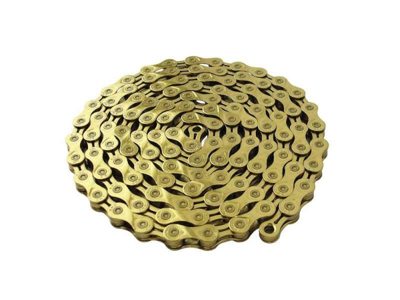 Цепь 116 зв. KMC X8 gold