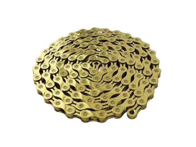 Цепь 116 зв. KMC X9 gold