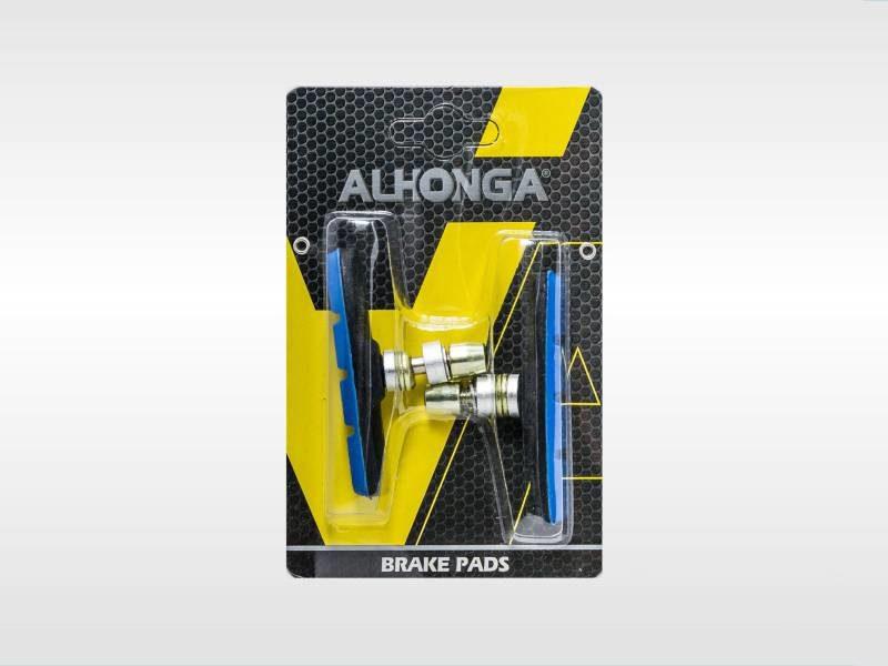 Колодки тормозные ободные ALHONGA HJ 600.12T3G2-BU