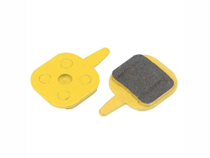 Колодки дисковые ALHONGA HJ-DS08 organic black