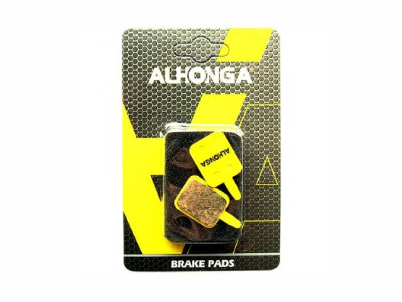 Колодки дисковые ALHONGA HJ-DS08 sinter gold