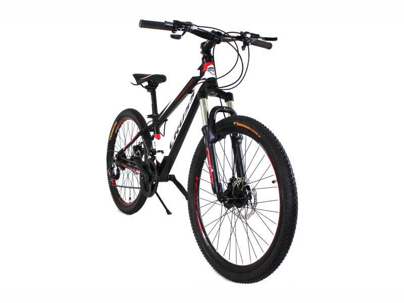 Велосипед Cross Hunter 24 Black-White-Red
