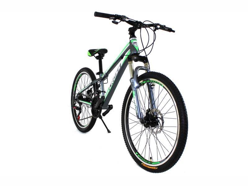 Велосипед Cross Hunter 26 Black-Green-White