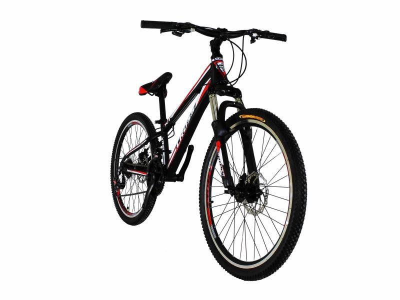 Велосипед Cross Racer 24 Black-Red-White