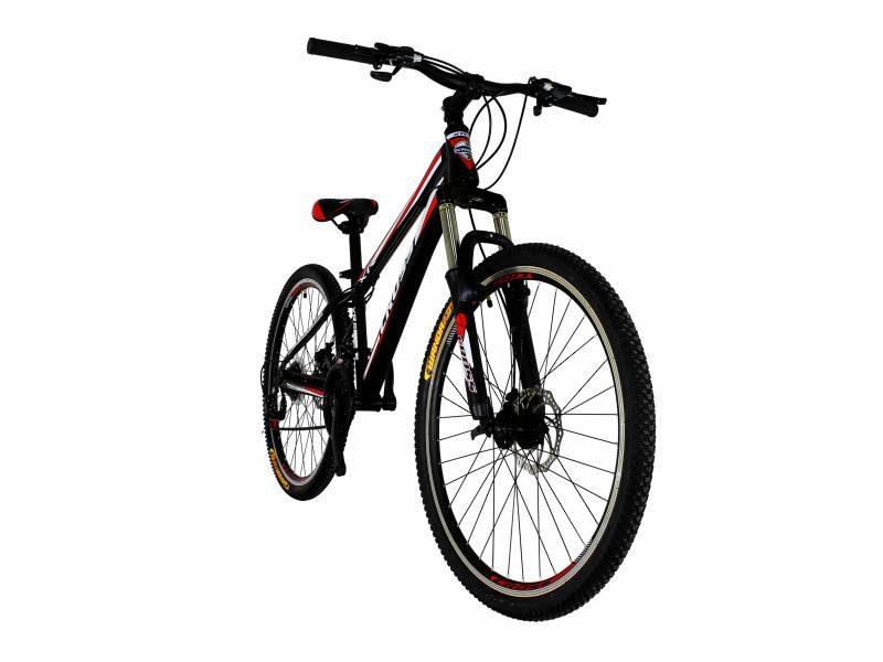 Велосипед Cross Racer 26 Black-Red-White