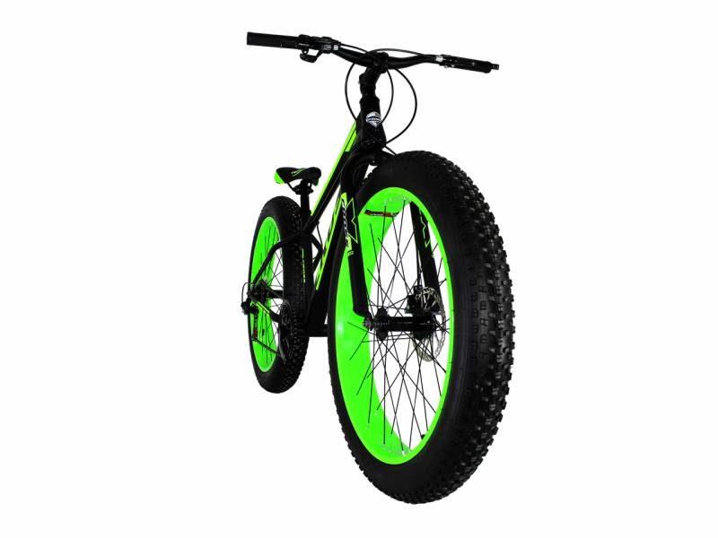 Велосипед Cross Tank 26 Black-Green