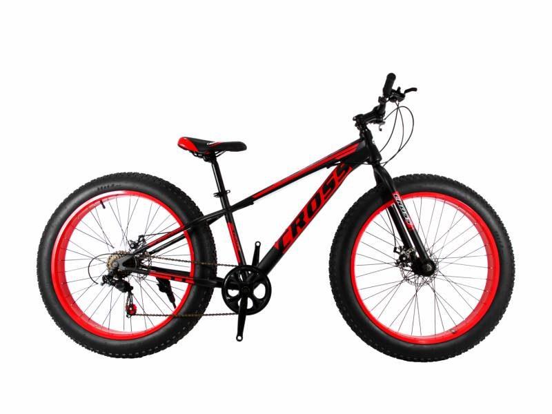 Велосипед Cross Tank 26 черно красный