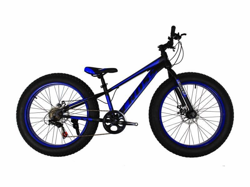 Велосипед Cross Tank 24 черно-синий