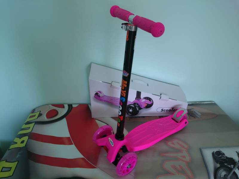 Самокат Maxi Scooter KS022 pink