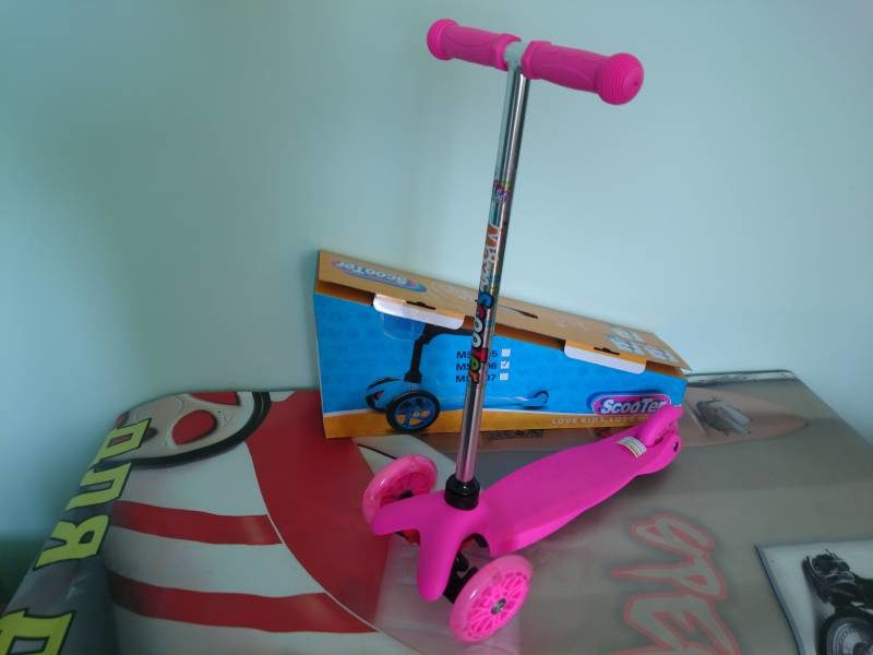 Самокат Maxi Scooter MS-906 pink