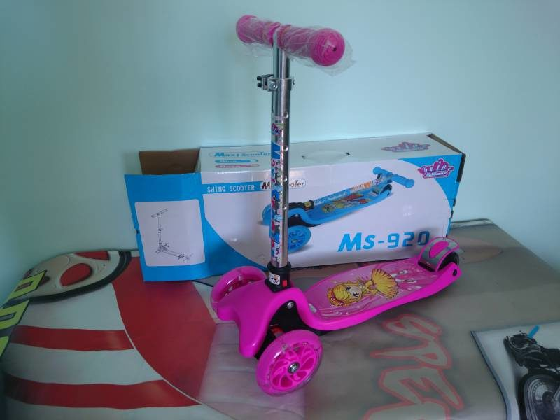 Самокат Maxi Scooter MS-920 pink