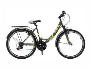 Велосипед Titan Elite 26 Gray-Green-White