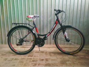 Велосипед Titan Elite 26 Black-Red-White