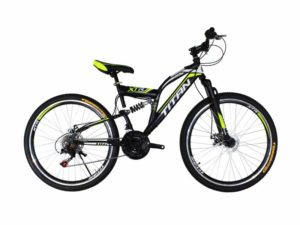 Велосипед Titan Panther 26 Black-Lime-White