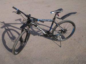 Велосипед Titan Solar 26 Black-Blue-Gray