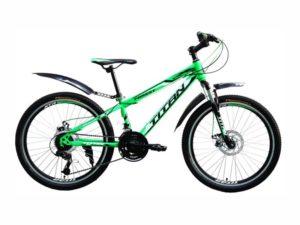 Велосипед Titan Forest 24 Green-Black-White