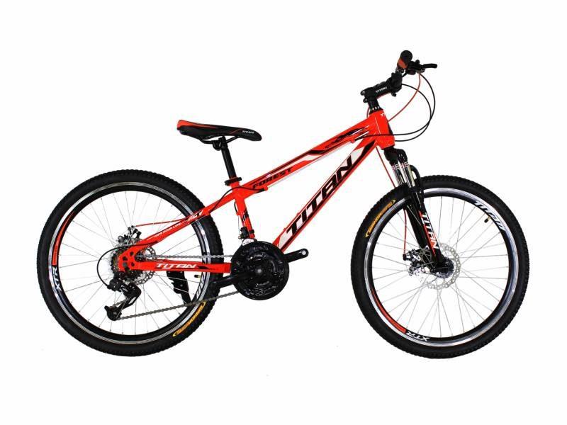 Велосипед Titan Forest 24 оранжевый