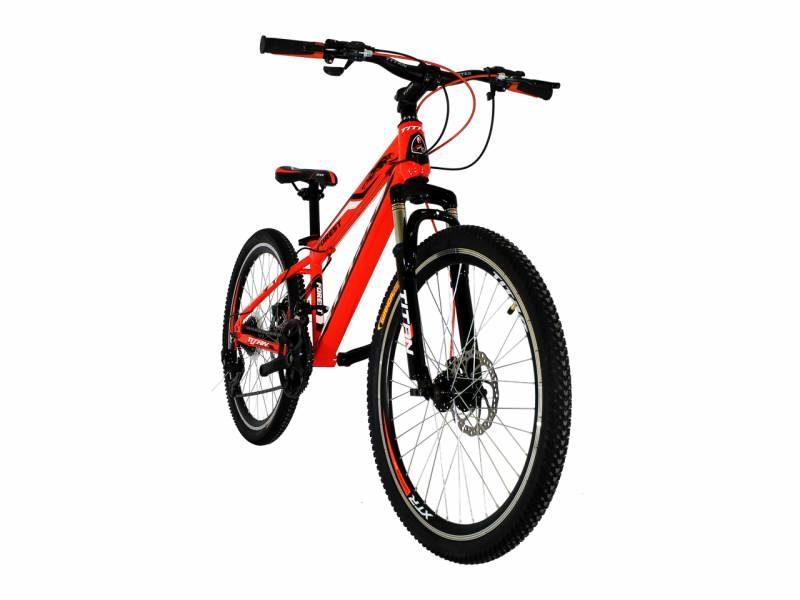 Велосипед Titan Forest 24 Orange-Black-White