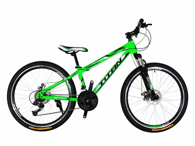 Велосипед Titan Forest 26 зеленый