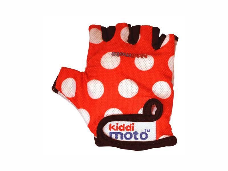 Перчатки детские Kiddimoto red-white М