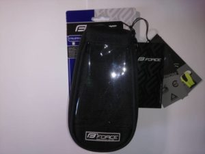 Сумка на раму Force Phone top black