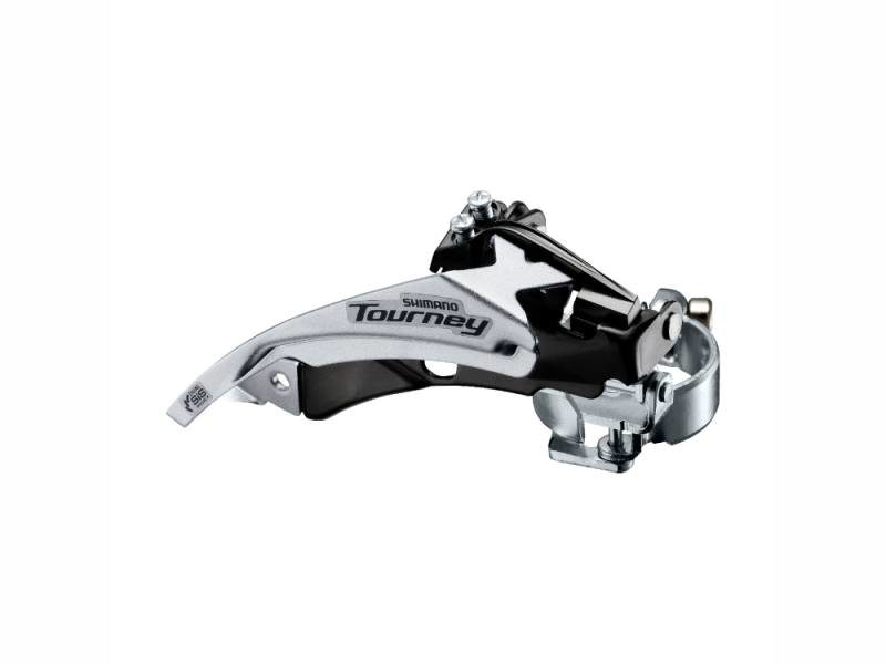 Переключатель передний Shimano Tourney FD-TY500, Top-Swing, универс. тяга, хомут 34.9, 42Т