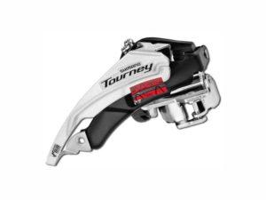 Переключатель передний Shimano Tourney FD-TY510, Top-Swing, универс. тяга, хомут 34,9/31.8, 48Т
