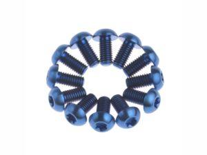 Набор болтов Bengal для роторов 12 шт blue