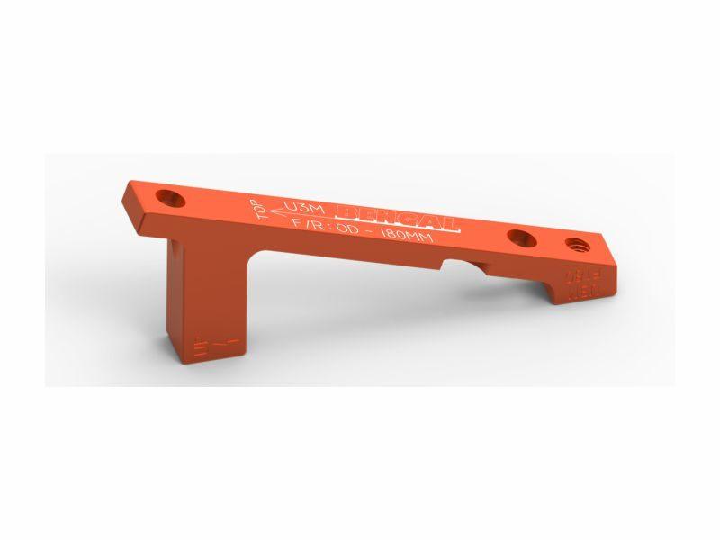 Адаптер для тормозов Bengal 180 mm PM orange