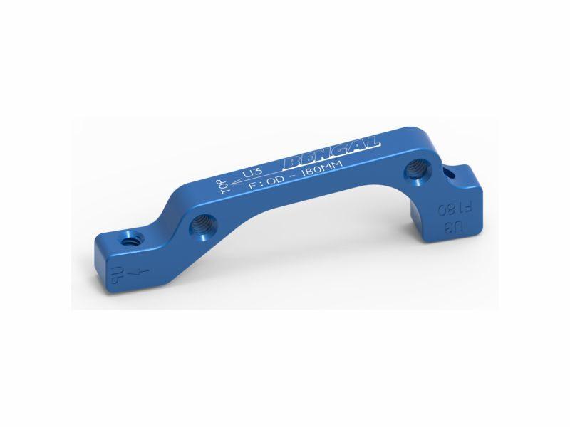 Адаптер для тормозов Bengal F 180 mm IS blue