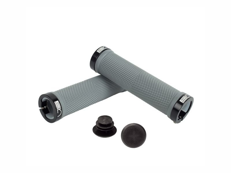 Грипсы Green Cycle GGR-424 130mm grey-black