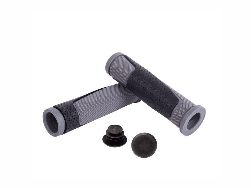 Грипсы Green Cycle GGR-004 130mm black-grey