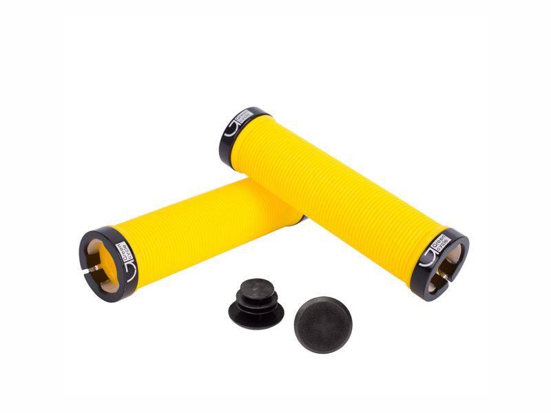 Грипсы Green Cycle GGR-421 130mm yellow