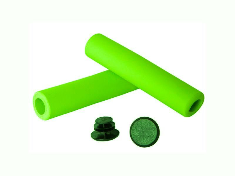 Грипсы Green Cycle GGR-701 130mm green