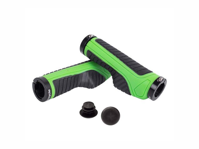 Грипсы Green Cycle GGR-523 130mm black-green