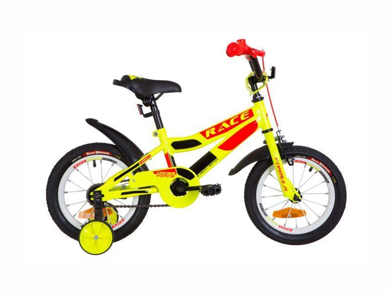Велосипед Formula Race 14 yellow-orange
