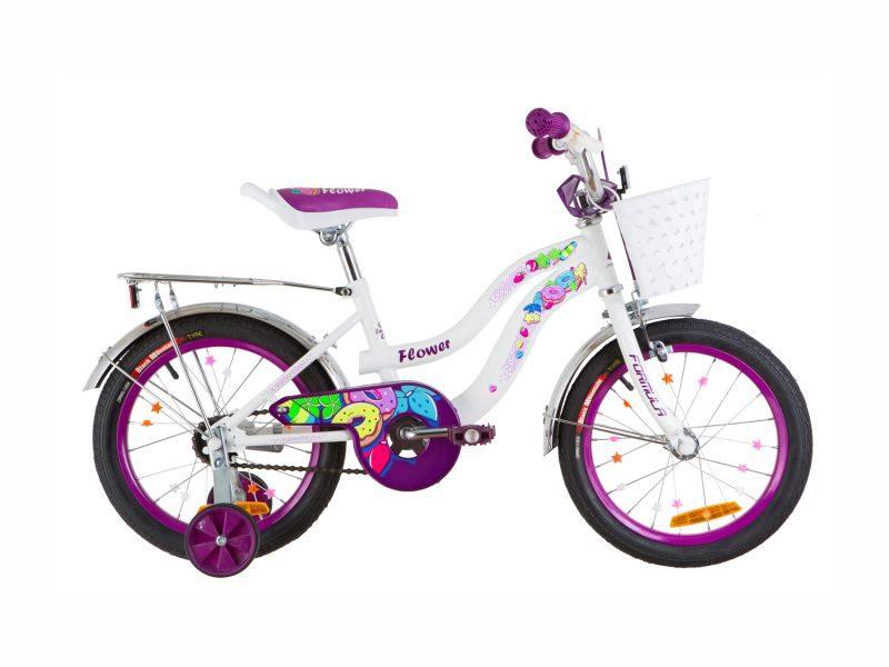 Велосипед Formula Flower 16 white-violet