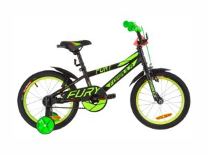 Велосипед Formula Fury 16 black-green