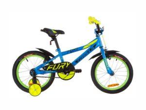 Велосипед Formula Fury 16 blue-green