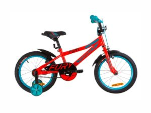 Велосипед Formula Fury 16 red-turquoise