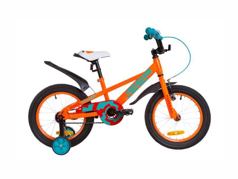 Велосипед Formula Jeep 16 orange-turquoise