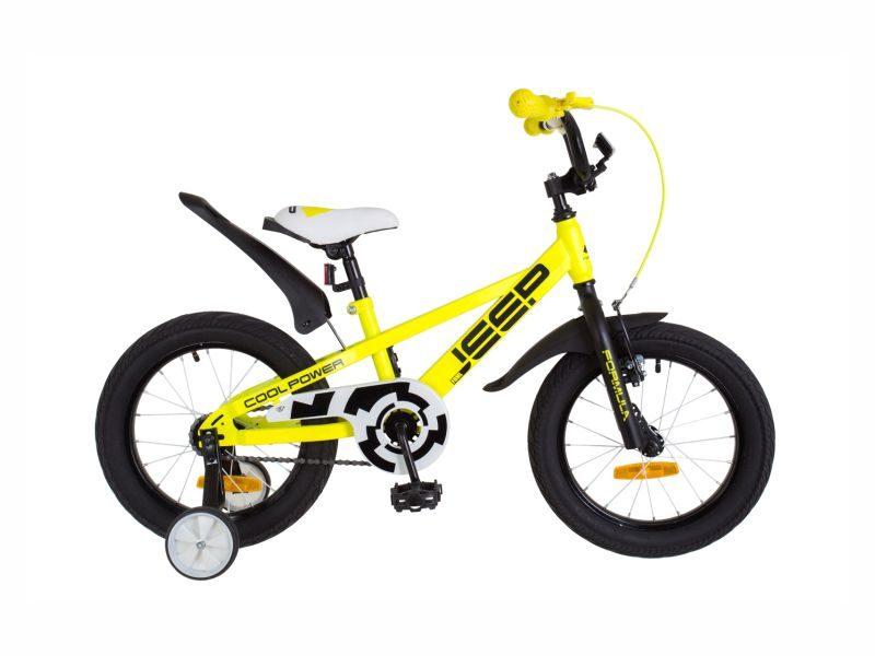Велосипед Formula Jeep 16 yellow