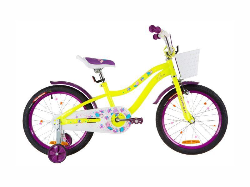 Велосипед Formula Alicia 18 yellow-violet