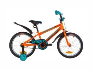 Велосипед Formula Sport 18 orange-turquoise