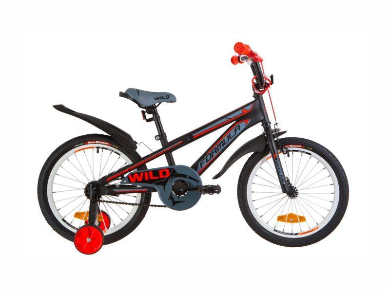 Велосипед Formula Wild 18 black-red