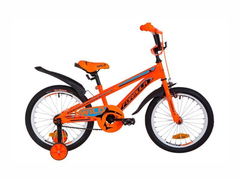 Велосипед Formula Wild 18 orange-blue
