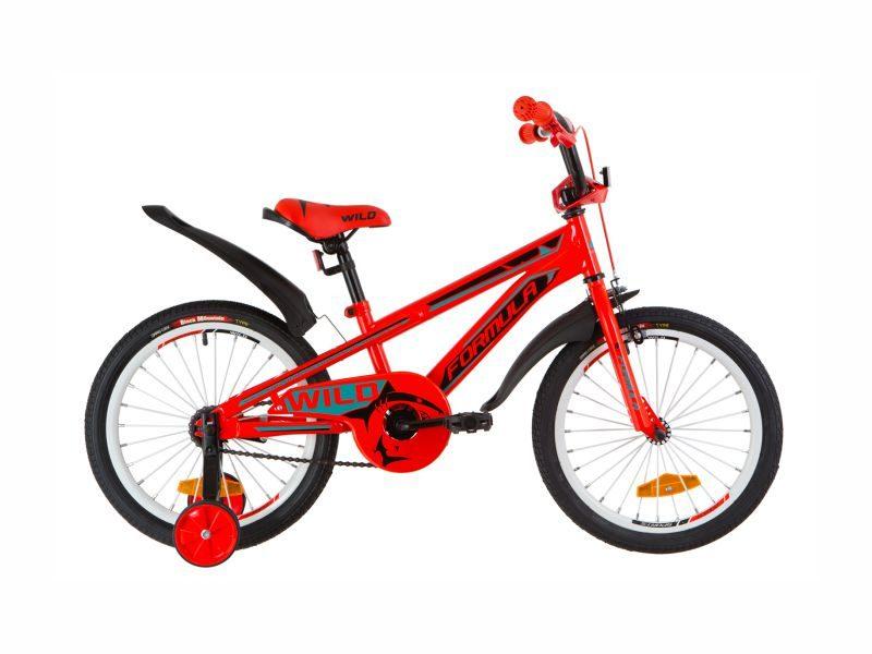 Велосипед Formula Wild 18 red-turquoise