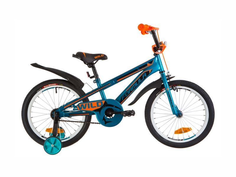 Велосипед Formula Wild 18 turquoise-orange